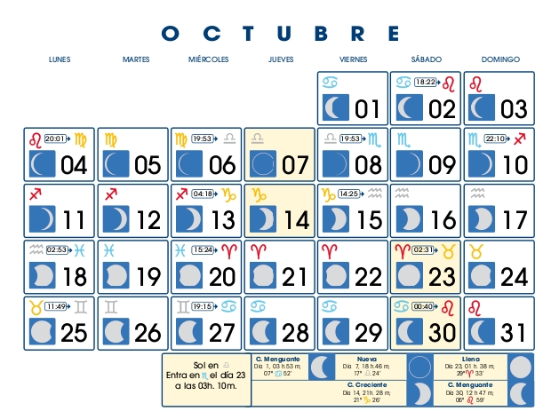 Calendario lunar new style for 2016 2017 for Calendario de luna creciente 2016